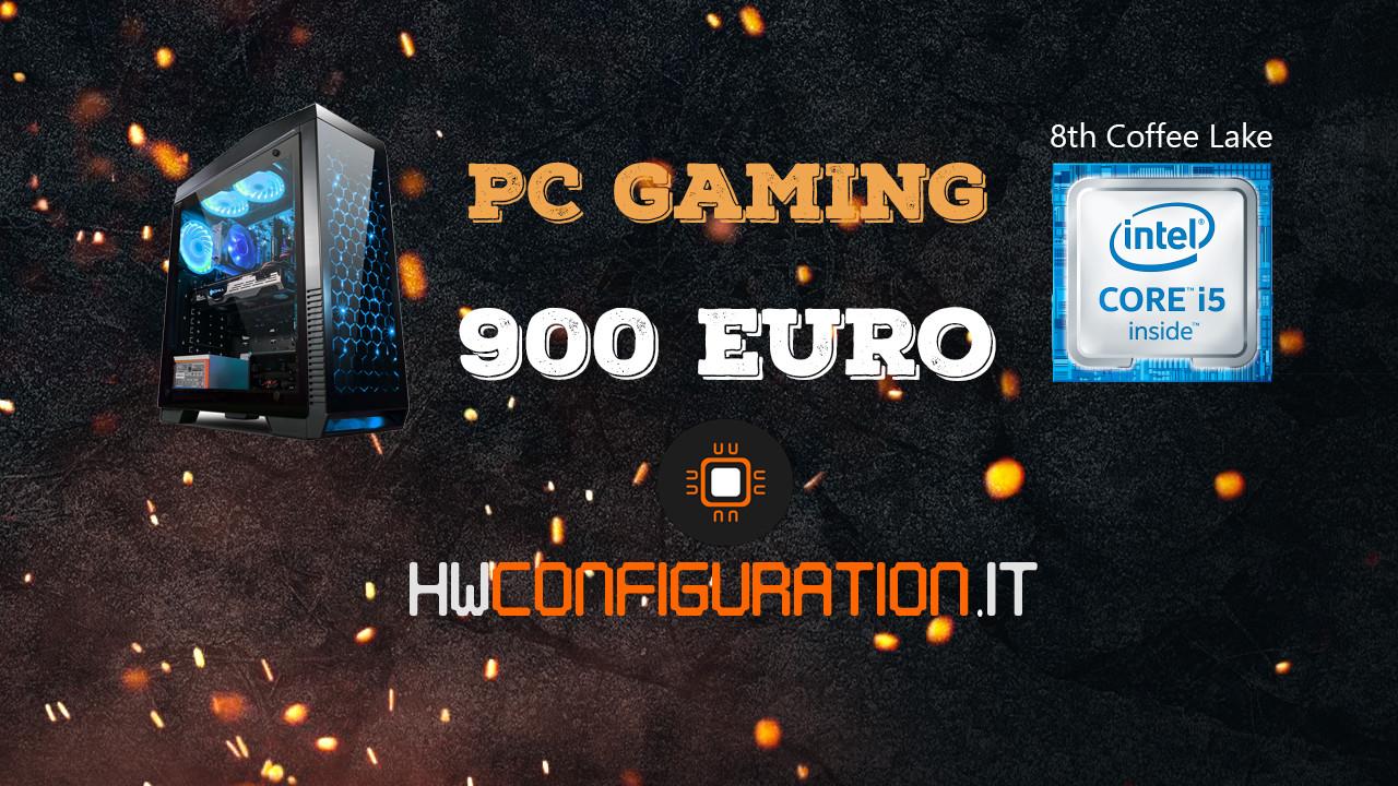 gaming pc 900 euro